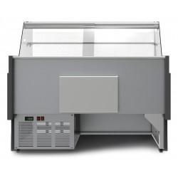 Prodis Araya A10F - 1m Flat Glass Deli Serve Over Counter With Refrigerated Under Storage