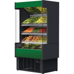 Prodis Aruba A80/100-FV - 1m Full Depth Fruit and Veg Open Fronted Multideck Display