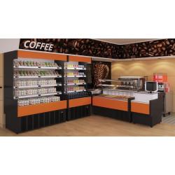 Prodis Aruba A60/125 - 1.25m Slimline Open Fronted Multideck Dairy Case