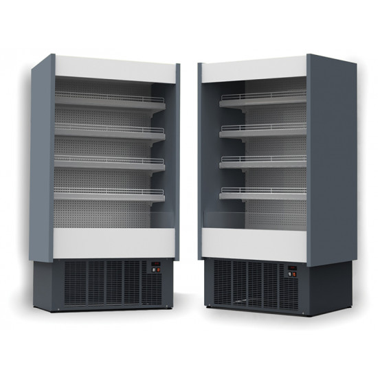 Prodis Aruba A80/200 - 2m Full Depth Open Fronted Multideck Dairy Case