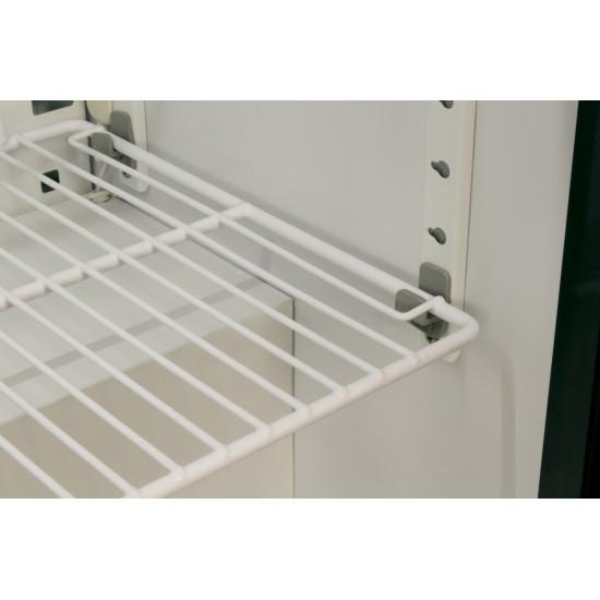 Prodis NT2BS-HC Double Sliding Door Black Bottle Cooler