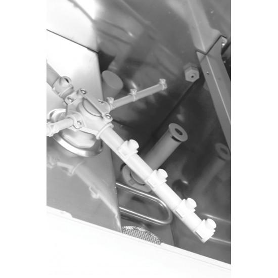 Prodis JET40, 400mm Glass Washer, Gravity Drain