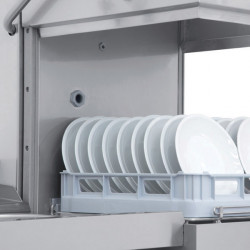 Prodis T1115 Medium Duty 500mm Basket Hood Dishwasher, Gravity Drain