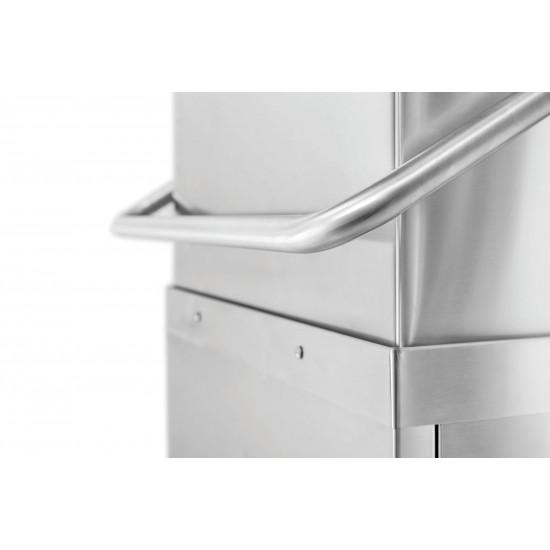 Prodis T1215PBT Heavy Duty 500mm Basket Air Break Tank Hood Dishwasher, Drain Pump
