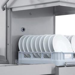 Prodis T1515 Heavy Duty 600 x 500mm Basket Hood Dishwasher, Gravity Drain
