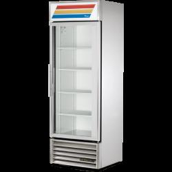 True GDM-19T-HC~TSL01 Single Door Heavy Duty Glass Door Merchandiser 466 Litres