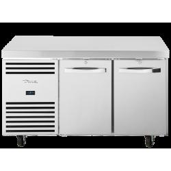 True TCR1/2-CL-SS-DL-DR Heavy Duty 2 Door Counter Fridge