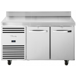 True TCR1/2-CL-WT-DL-DR Heavy Duty 2 Door Counter Fridge With Upstand