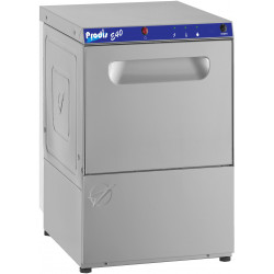 Prodis E40, 400mm Heavy Duty Glass Washer, Gravity Drain