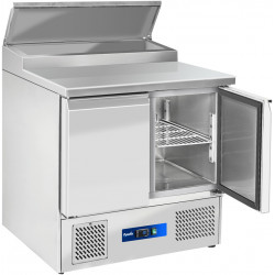 Prodis EC-2PREP 2 Door Compact Prep Table, 5 x 1/6GN Topping Well