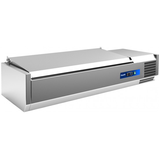 Prodis EC-T12S, 1200mm 4 x 1/3GN Topping Unit With Stainless Steel Lid