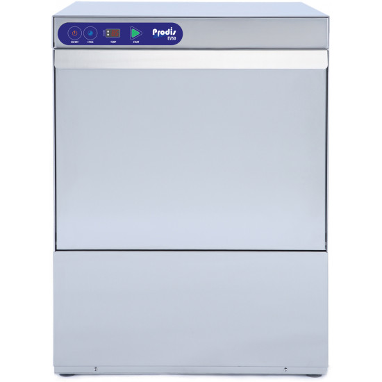 Prodis EV50, 500mm Heavy Duty Electronic Glass Washer, Drain Pump