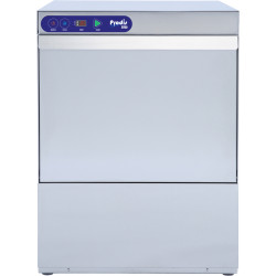 Prodis EV80, 500mm Heavy Duty Electronic Dishwasher, Drain Pump, Air Break Tank