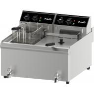Prodis FDF206, 2 x 10 Litre Coutertop Electric Fryer, 2 x 6kW