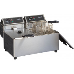 Prodis FDF77, 2 x 7 Litre Countertop Electric Fryer
