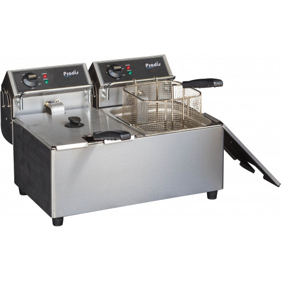 Prodis FDF77, 2 x 7 Litre Countertop Electric Fryer