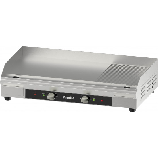 Prodis FGR36, 900mm 2/3 Flat 1/3 Ribbed Top Griddle, 900 x 400mm Cooking Area