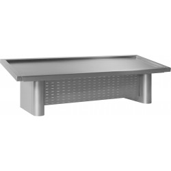Prodis FISK15 - 1.5m Stainless Steel Fish Display Counter