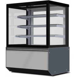 Prodis Florida F10A - Ambient 1m Flat Glass Patisserie Counter