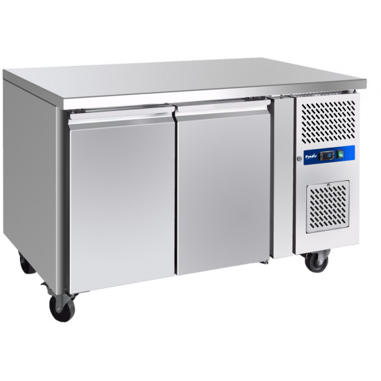 Prodis GRN-C2R Professional Two Door Stainless Steel Counter Fridge