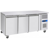 Prodis GRN-C3F Professional Three Door Stainless Steel Counter Freezer
