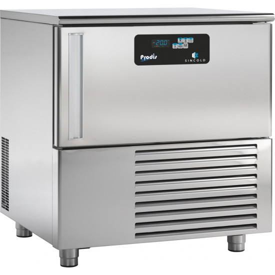 Prodis Sincold MXT5.20 Counter Height Blast Chiller 5 Tray / 20kg Capacity