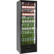 Prodis NT10-HC Single Door Black Finish Upright Bottle Cooler