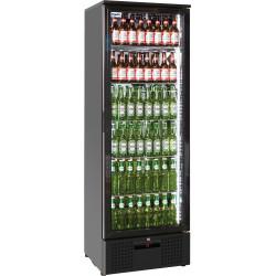 Prodis NT10-HC Single Door Black Finish Upright Bottle Cooler