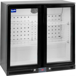 Prodis NT2BHLO-HC Low Profile Double Hinged Door Bottle Cooler