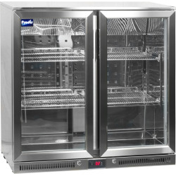Prodis NT2ST-HC Stainless Steel Double Door Bottle Cooler