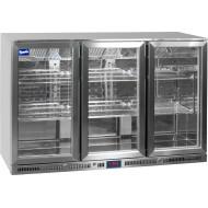 Prodis NT3ST Stainless Steel Triple Door Bottle Cooler