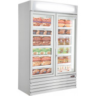 Prodis XD2NW Double Door Heavy Duty Shop Display Freezer