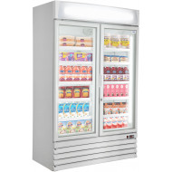 Prodis XD2PW Double Door Heavy Duty Shop Display Fridge