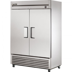True T-49F-HC Heavy Duty Double Door Upright Service Freezer