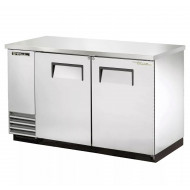 True TBB-2-S Double Hinged Solid Door Back Bar Cooler, Stainless Steel Finish