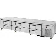 True TRCB-110, 6 Drawer Heavy Duty Refrigerated Chef Base